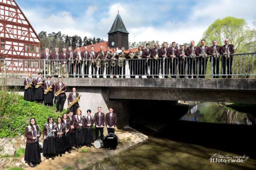 Gruppenbild des MV Stetten