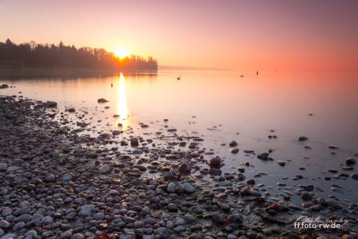Insel Mainau: Sonnenaufgang